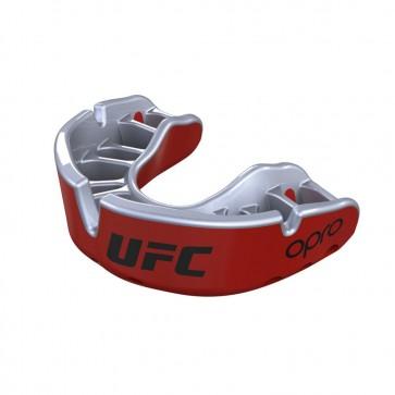 OPRO x UFC Gebitsbeschermer Self-Fit Gold Zwart/Zilver