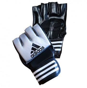 adidas Grappling Training Handschoenen Zwart/Zilver Extra Large