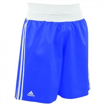 adidas Amateur Boxing Short Lightweight Blauw/Wit