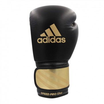 adidas Bokshandschoenen Speed Pro Zwart/Goud