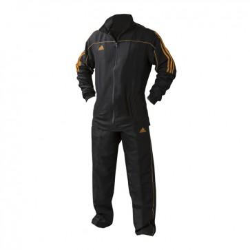 adidas Team Track Trainingsjack Zwart/Oranje