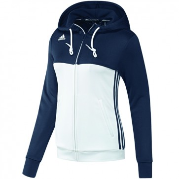 adidas T16 Team Hoodie Women Blauw/Wit