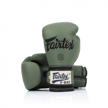 Fairtex (kick)bokshandschoenen F-Day Limited Edition 16oz