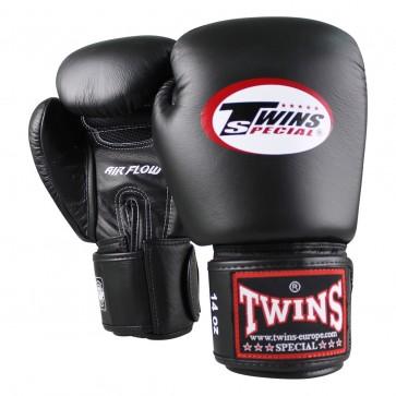 Twins (kick)bokshandschoenen Velcro BGVL-3 AIR Zwart