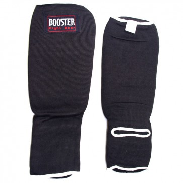Booster elastische scheenbeschermers zwart