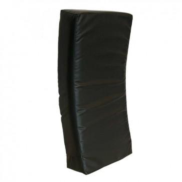Gebogen Stootkussen 75x35x15 cm Zwart