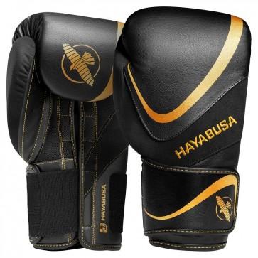 Hayabusa (kick)bokshandschoenen H5 Zwart/Goud