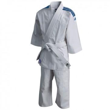 Adidas Judopak Evolution II J250 Wit/Blauw