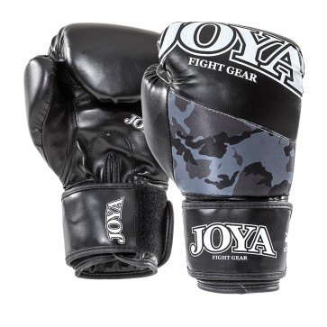 Joya Junior (kick)bokshandschoenen Top One Camo Zwart 6oz