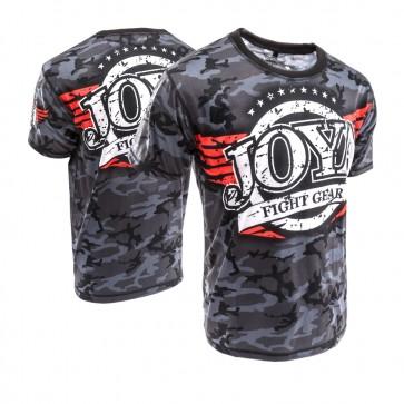 Joya Junior T-Shirt Camo Zwart