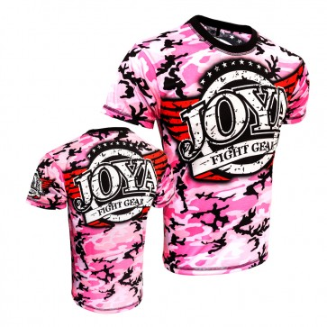 Joya Junior T-Shirt Camo Roze