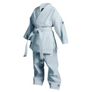 adidas Karatepak K200 Kids Wit/Blauw