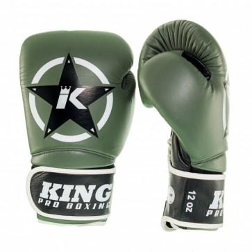 King (kick)bokshandschoenen Vintage 1 Groen/Zwart