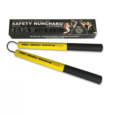 Safety Nunchaku Traditional Geel Junior