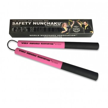 Safety Nunchaku Professional Roze Junior