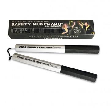 Safety Nunchaku Traditional Wit Junior