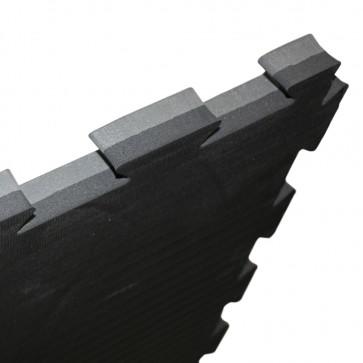 Puzzelmat 100 x 100 x 2,5 cm Zwart/Grijs