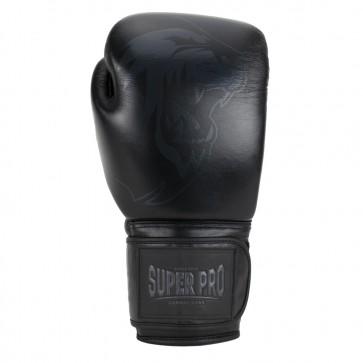 Super Pro Combat Gear Legend Lederen (kick)bokshandschoenen Zwart