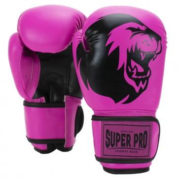 Super Pro Combat Gear Talent (kick)bokshandschoenen Roze/Zwart