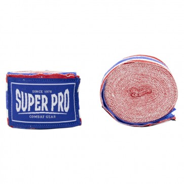 Super Pro Combat Gear Bandages Rood/Wit/Blauw