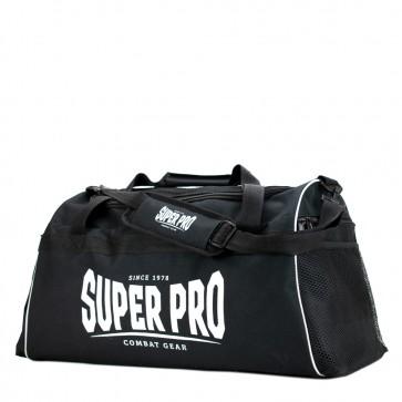 Super Pro Combat Gear Gym Sporttas Zwart/Wit Large