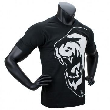 Super Pro T-Shirt Lion Logo Zwart/Wit