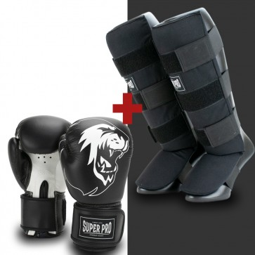 Super Pro Combat Gear Kinderset Black/White