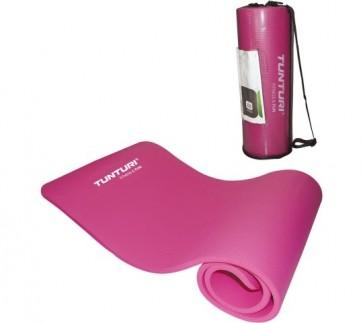 Tunturi Fitnessmat Roze 180x60x1.5 cm
