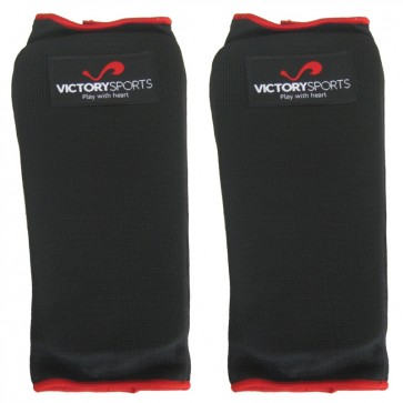 Victory Sports Elastische Scheenbeschermer Zonder Voet