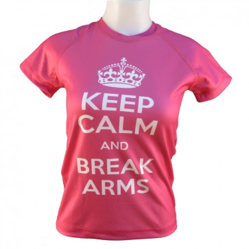 Victory Sports T-Shirt Keep Calm and Break Arms