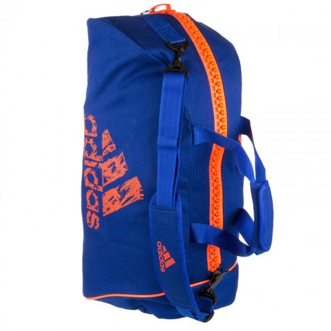 6b8152e20f3 adidas Super Sporttas 2-in-1 Blauw/Oranje