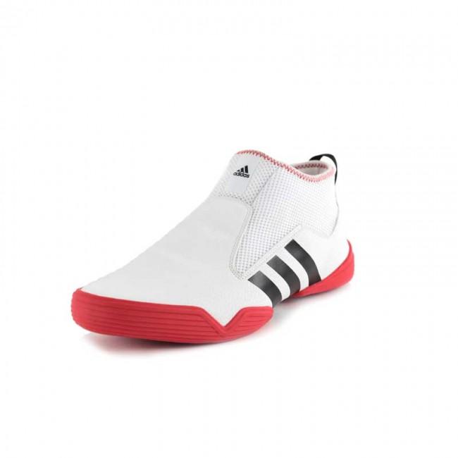 adidas schoenen wit rood