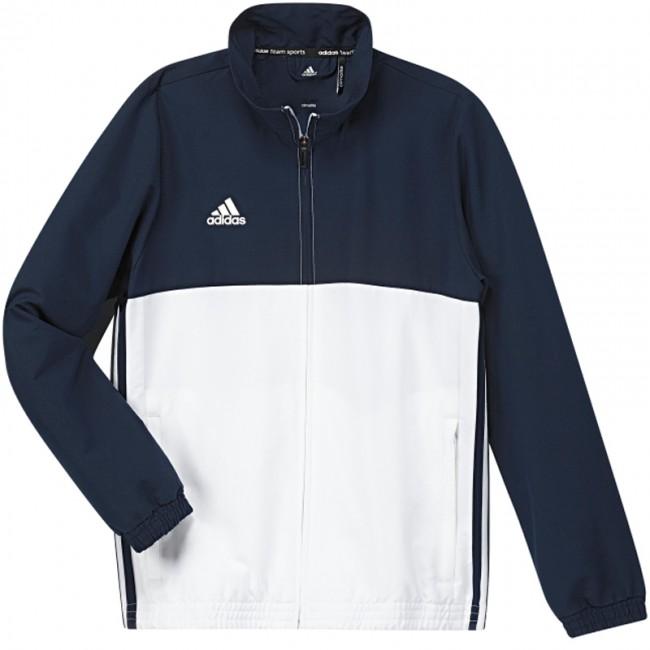 2d02b43a94d adidas T16 Team Jack Youth Blauw/Wit