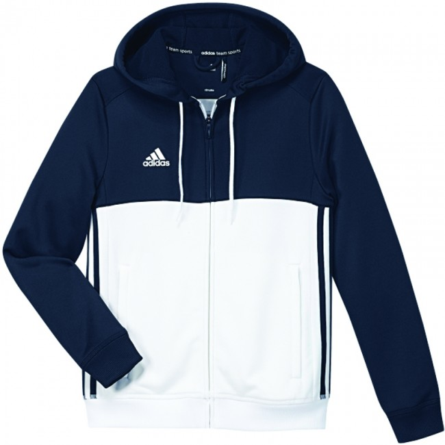 480be9a2c12 adidas T16 Team Hoodie Blauw/Wit Youth