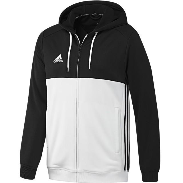 b829a960221 adidas T16 Team Hoodie Zwart/Wit