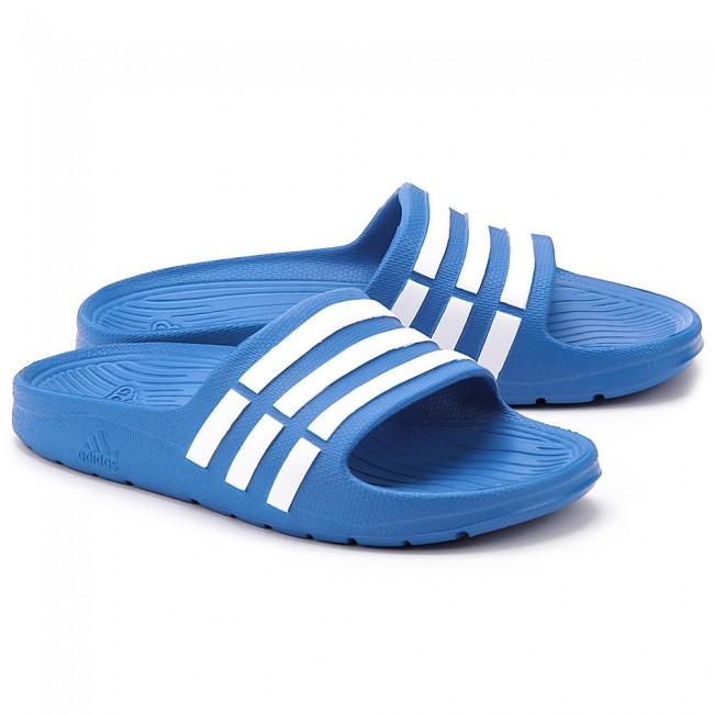 344c71bbdba4ec adidas Slippers Duramo Slide Junior Blauw