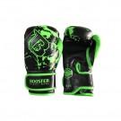 Booster (kick)bokshandschoenen Junior Marble Zwart/Groen