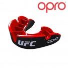 Opro Gebitsbeschermer -Silver- UFC Zwart/Rood Senior