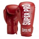 Super Pro Combat Gear Champ (kick)bokshandschoenen Rood/Wit