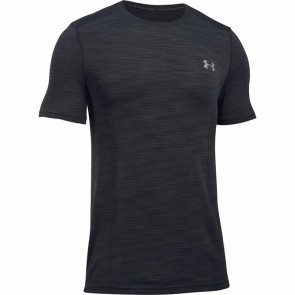 Under Armour Heren T-shirt Threadborne Naadloos Zwart