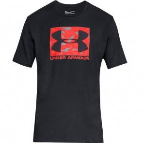 Under Armour Heren T-shirt Boxed Sportstyle Zwart/Rood