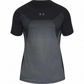 Under Armour Heren T-Shirt Threadborne Vanish Zwart