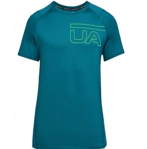 Under Armour Herenshirt MK-1 Graphic Groen