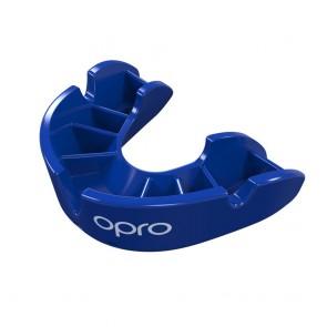 OPRO Gebitsbeschermer Self-Fit Bronze Blauw Junior