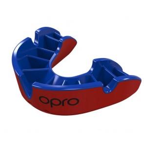 OPRO Gebitsbeschermer Self-Fit Silver Rood/Blauw Junior