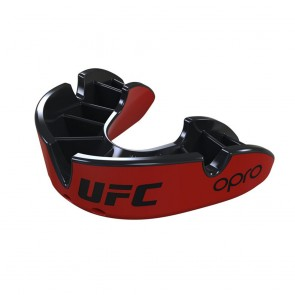 OPRO x UFC Gebitsbeschermer Silver Rood/Zwart
