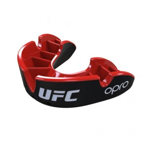 OPRO x UFC Gebitsbeschermer Silver Zwart/Rood