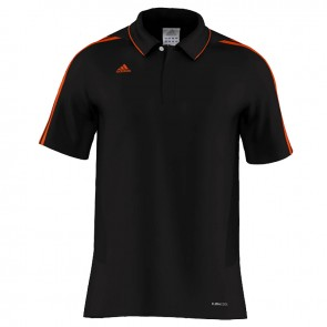adidas MiTeam Team Polo Men Zwart/Oranje