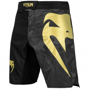 Venum MMA Fightshort Light 3.0 Zwart/Camo/Goud