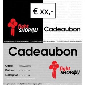 Cadeaubon Fightshop4u